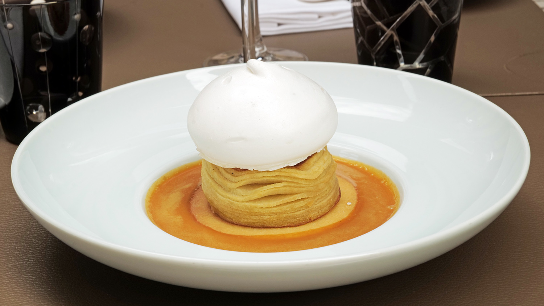 dessert pavedauge beuvron restaurant etoile